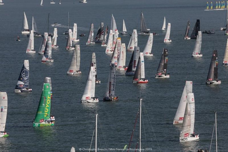 Mini-Transat departs France, Championship of Champions, U.S. Match Racing Championship