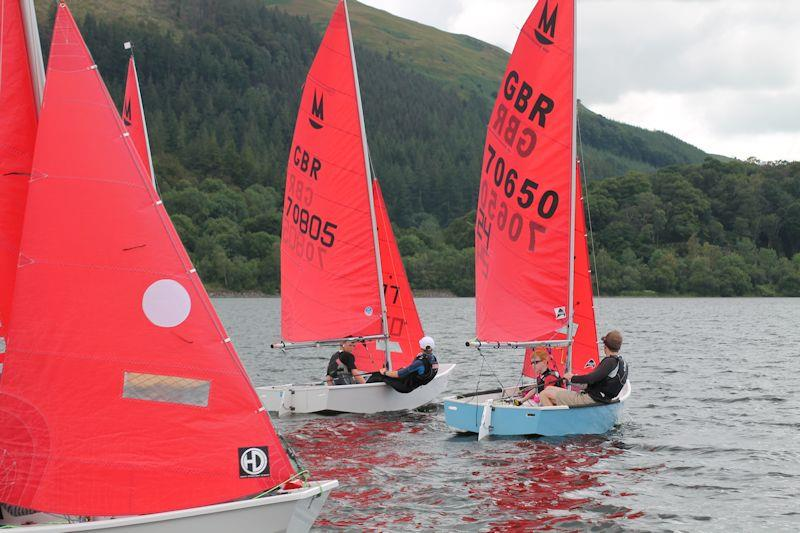 Mirror Inland, Youth & Junior, and Singlehanded Championship at Bassenthwaite - photo © William Carruthers