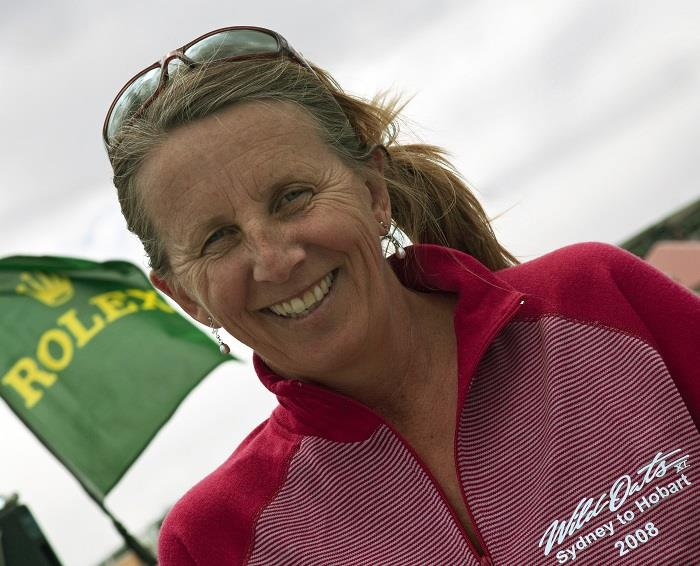 Adrienne Cahalan, creating history for women in the Rolex Sydney Hobart Yacht Race - photo © Rolex / Daniel Forster