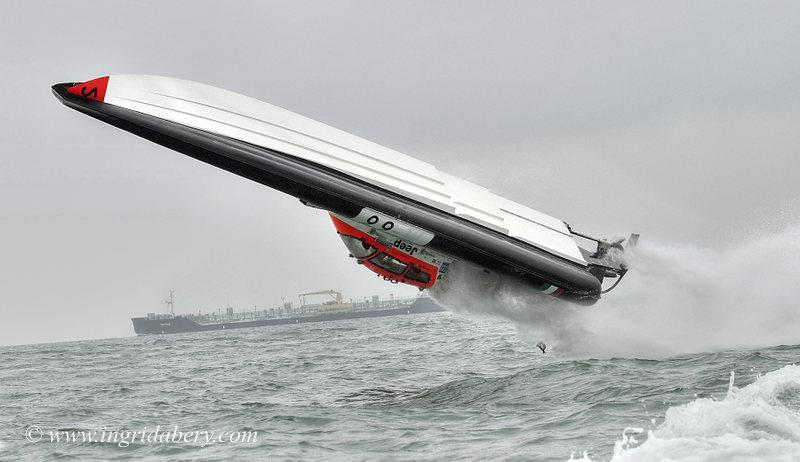 Ceramica Panaria's roll in the Solent - photo © Ingrid Abery / www.ingridabery.com
