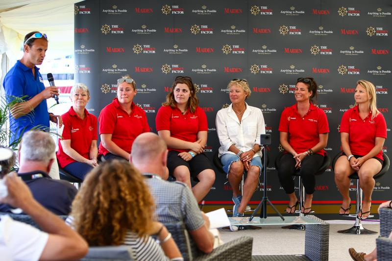 Tracy Edwards launches The Maiden Factor at Lendy Cowes Week - photo © Tom Gruitt / CWL