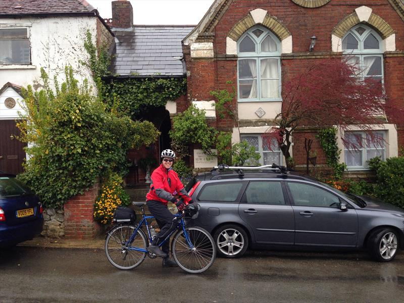 Consider using public transport, walk or cycle when you can to minimise your car use - photo © Gael Pawson