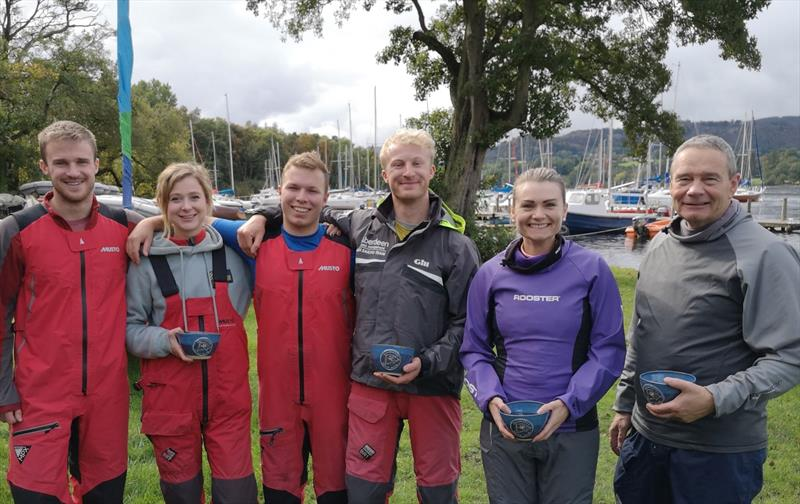 First place prize winners during the Ullswater YC Asymmetric Weekend - photo © Sue Giles