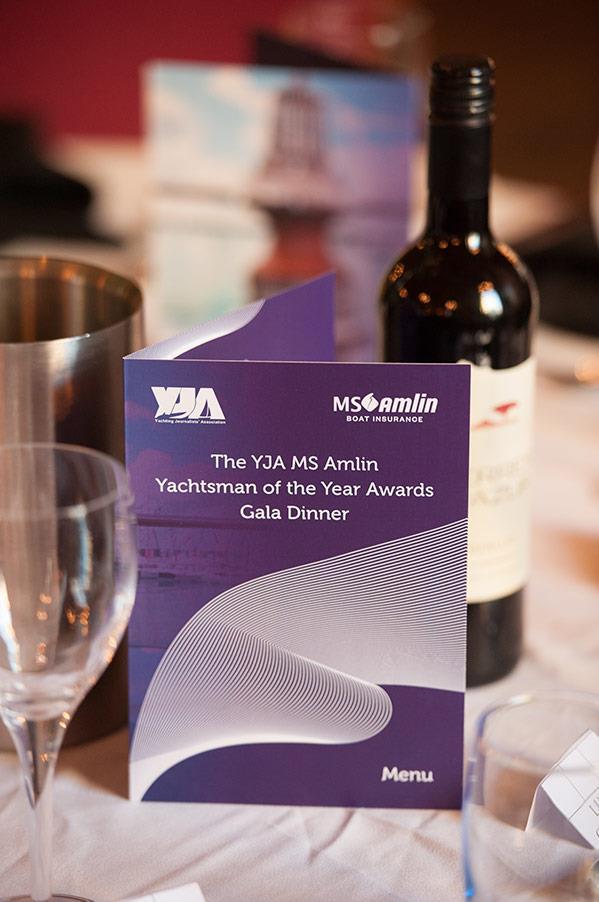 Scenes from the YJA MS Amlin Awards Gala Dinner 2019 - photo © Sally Golden