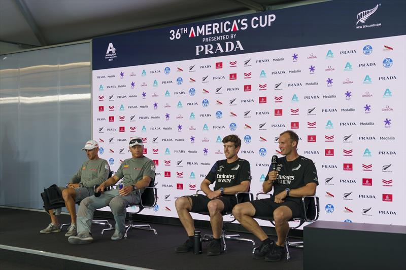 36th America's Cup Post Race Press Conference - photo © ACE / Studio Borlenghi