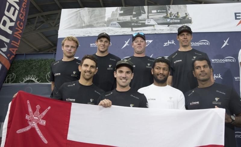 Team Oman Air - Extreme Sailing Series Los Cabos, Act 7 - photo © Lloyd Images