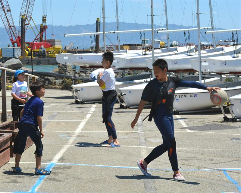 US Sailing's Facility for Advanced Sailing and Technology (FAST) facility on San Francisco Bay is training tomorrow's Olympic hopefuls - photo © Kimball Livingston