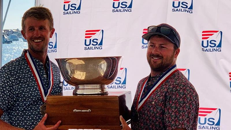 Alex Curtiss (left) and Jake La Dow (right) at 2020 Championship of Champions in Newport Beach, California.  - photo © US Sailing