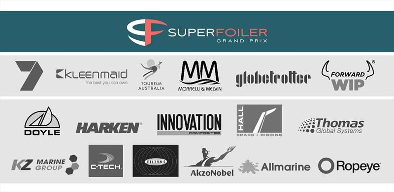 SuperFoiler Grand Prix Sponsors - photo © SuperFoiler