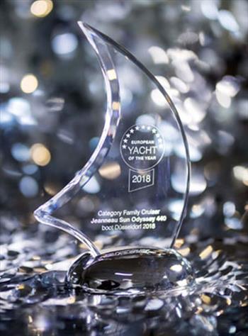Jeanneau Sun Odyssey 440 wins the European Yacht of the Year