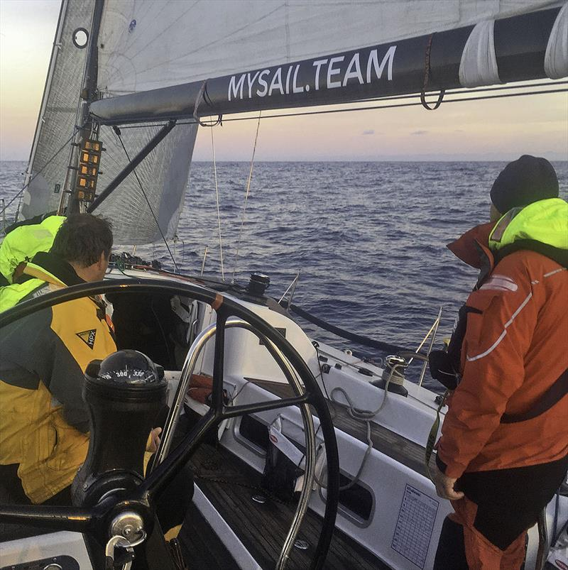 Katie builds her offshore miles and experience delivering a yacht from Hobart to Melbourne after the 2017 Sydney to Hobart Yacht Race. - photo © MySail