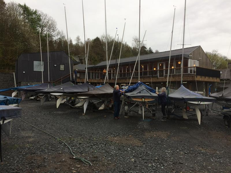 New clubhouse and other facilities at South Windermere Sailing Club - photo © SWSC