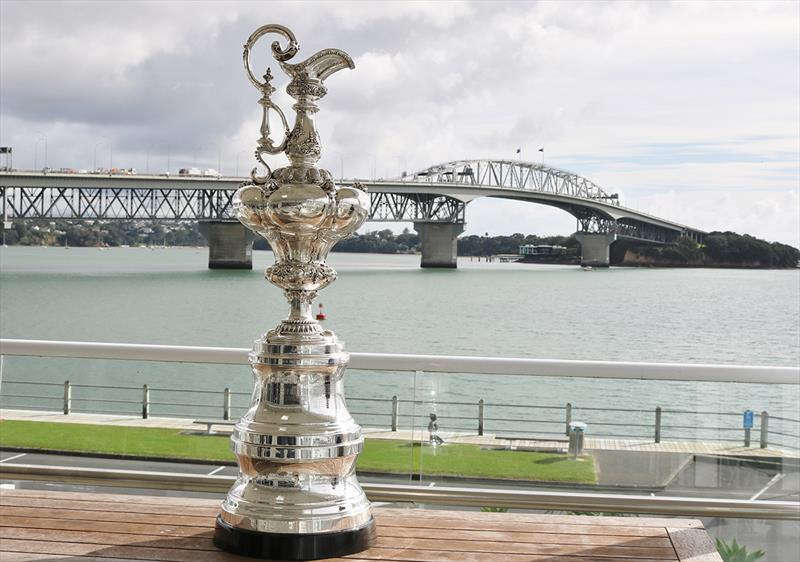 America's Cup Trophy photo copyright Andrew Delves taken at Royal New Zealand Yacht Squadron