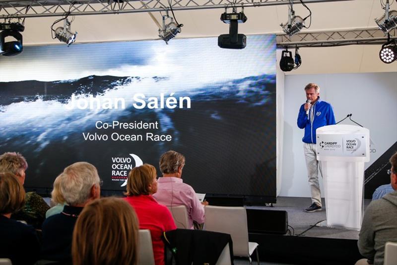 Johan Salen, Co-President Volvo Ocean Race. Cardiff stopover. Ocean Summit. - photo © Jesus Renedo / Volvo Ocean Race