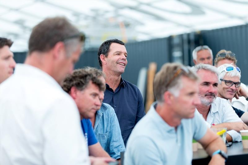 The Hague Stopover. Information session about IMOCA partnership at The Hague photo copyright Pedro Martinez / Volvo Ocean Race taken at