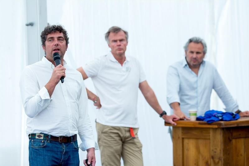The Hague Stopover. Information session about IMOCA partnership at The Hague - photo © Pedro Martinez / Volvo Ocean Race