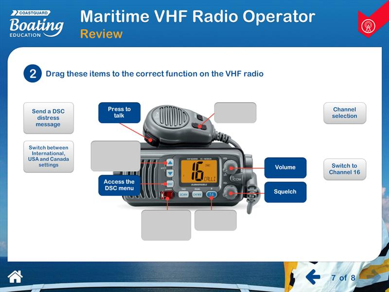 Win an Icom M25 EURO handheld VHF by signing up for a CBE