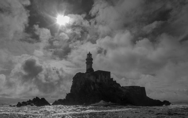 The Fastnet Rock - photo © Rolex / Daniel Forster