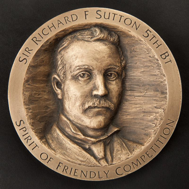 The Sir Richard Francis Sutton Medal - photo © Event Media