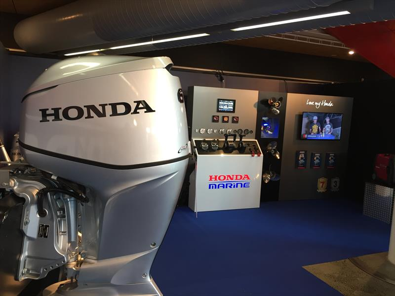 Honda Marine Free Rigging Kit promotion is again offering FREE Rigging Kits on all BF80 – BF250 outboards sold during the show and the following weeks - photo © Honda Marine