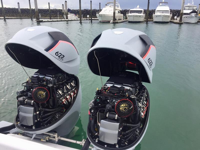627S by Seven Marine - 1254 horsepower in just two engines - photo © Seven Marine