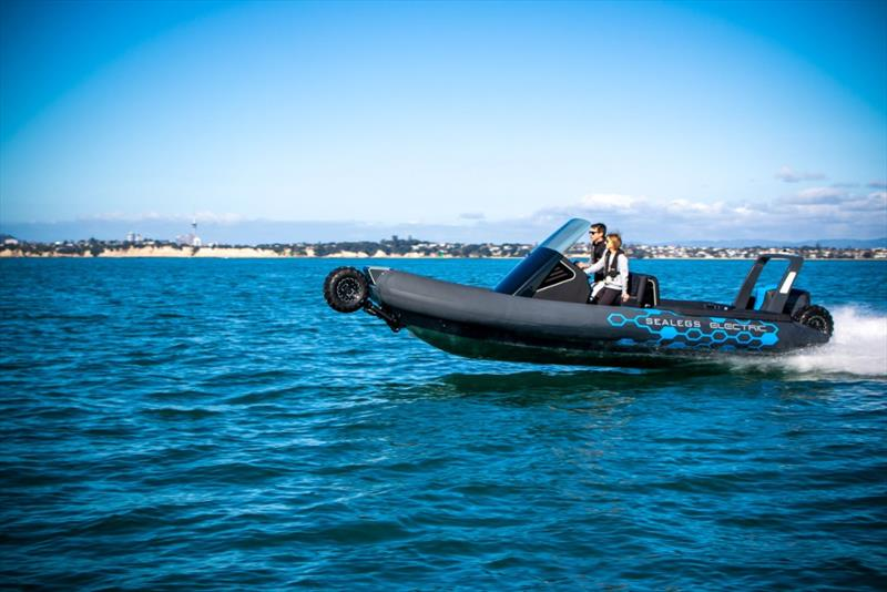 The Sealegs Electric E4 is a better, faster and more powerful amphibious craft  - photo © Sealegs