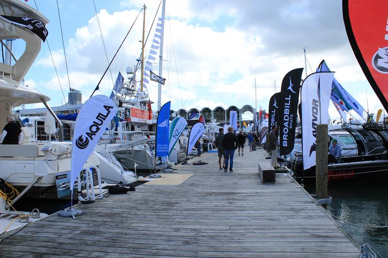 The Auckland On Water Boat Show is on now and provides a platform for the NZ marine industry to grow its market photo copyright Auckland on the Water Boat Show taken at