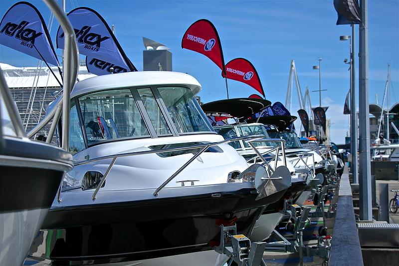 Trailer boats on the Island- Auckland On the Water Boat Show - Day 4 - September 30, 2018 - photo © Richard Gladwell