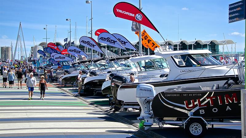 Trailer boats on the Island - Auckland On the Water Boat Show - Day 4 - September 30, 2018 - photo © Richard Gladwell