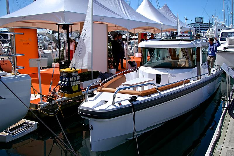 Axopar 28 - Auckland On the Water Boat Show - Day 4 - September 30, 2018 - photo © Richard Gladwell