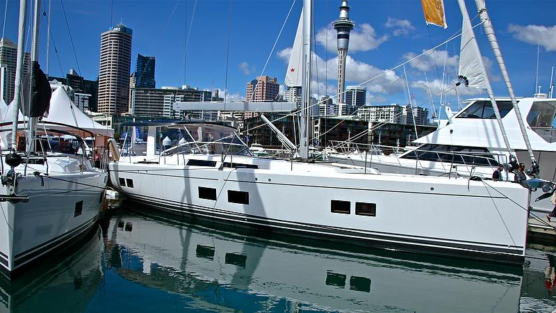 Hanse 548 - Auckland On the Water Boat Show - Day 4 - September 30, 2018 - photo © Richard Gladwell