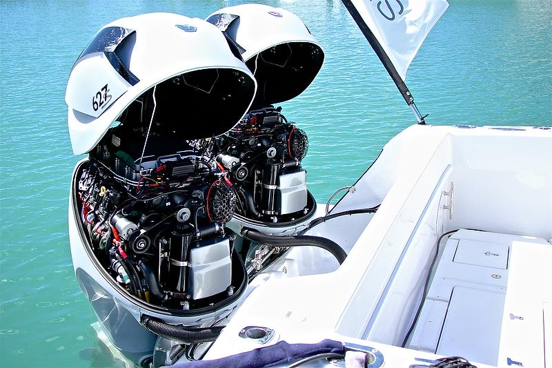 Seven Marine - 627s - a total power of 1254HP - Auckland On the Water Boat Show - Day 4 - September 30, 2018 - photo © Richard Gladwell