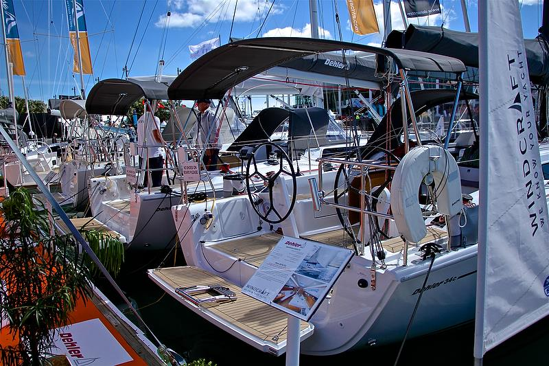 Dehler 34c - Auckland On the Water Boat Show - Day 4 - September 30, 2018 - photo © Richard Gladwell
