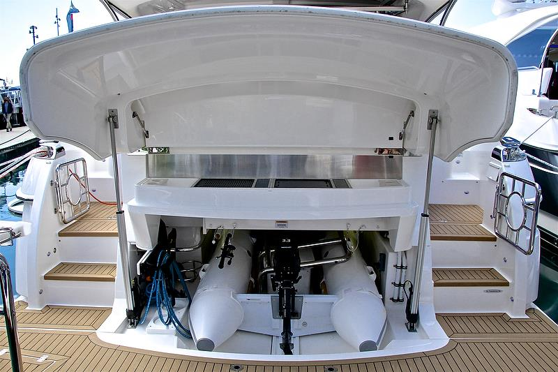 Superyacht style lazarette - Auckland On the Water Boat Show - Day 4 - September 30, 2018 - photo © Richard Gladwell