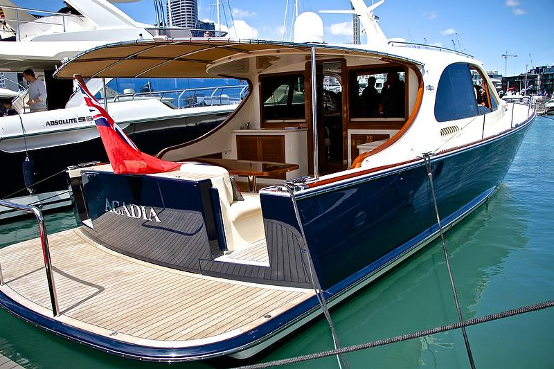 Grand Banks / Palm Beach Motor Yachts - Auckland On the Water Boat Show - Day 4 - September 30, 2018 - photo © Richard Gladwell