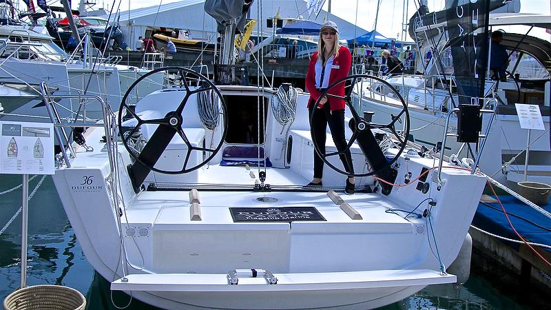 Dufour 36 - Auckland On the Water Boat Show - Day 4 - September 30, 2018 photo copyright Richard Gladwell taken at