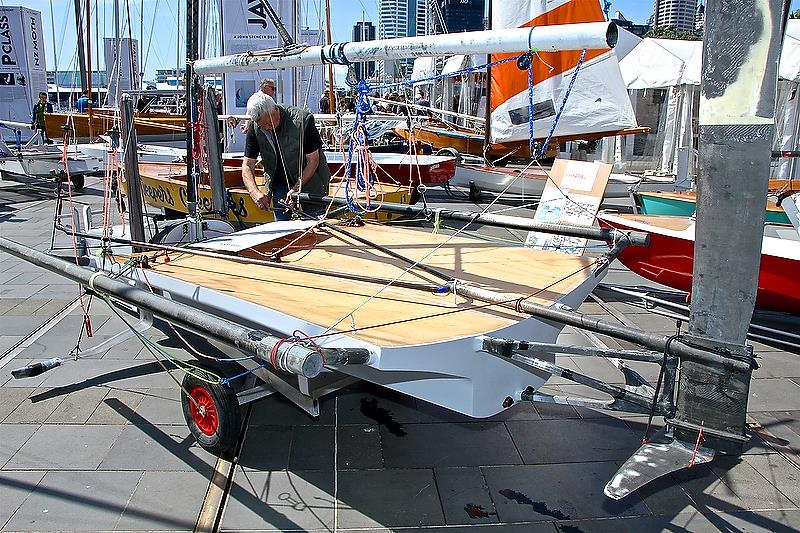 Foiling R class - NZ Dinghy Exhibition 2018 - photo © Richard Gladwell