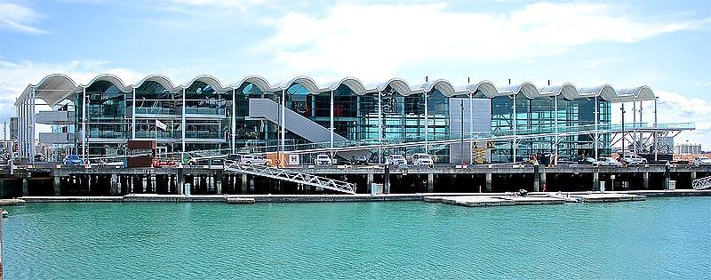 Emirates Team New Zealand base - Viaduct Harbour, Auckland - photo © Richard Gladwell