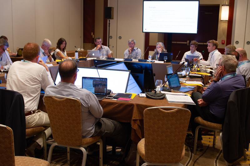 World Sailing - Meetings are in progress daily to go through Submissions and make recommendations to the WS Council - photo © Daniel Smith