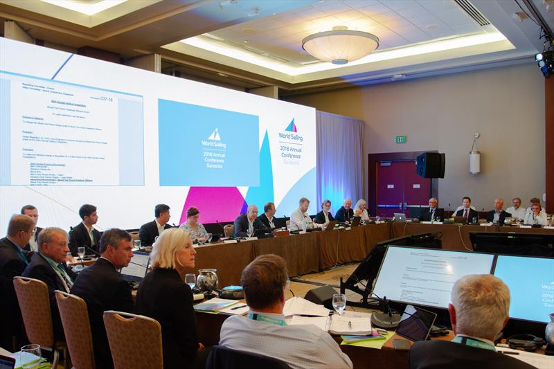 Council Meeting - Day 1 - Sarasota, Florida, USA - Annual Conference 2018 photo copyright Daniel Smith taken at