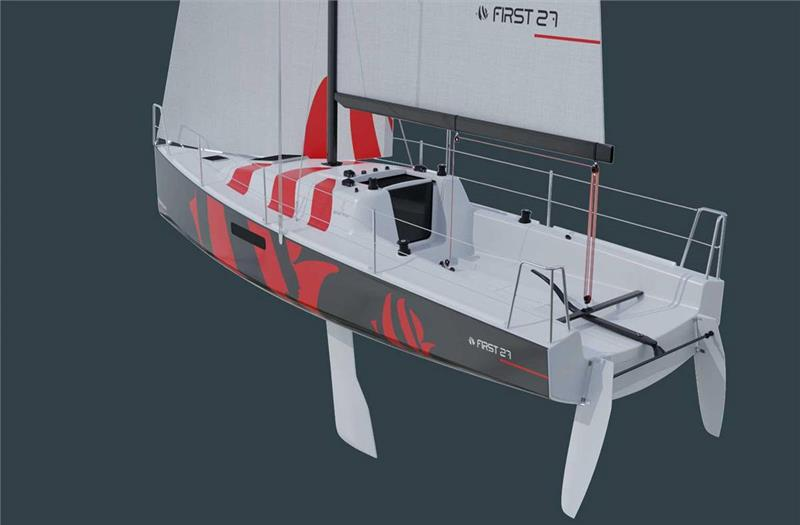 The new First 27 by Beneteau tipped as an early frontrunner for selection as an Olympic Offshore Keelboat - photo © Beneteau