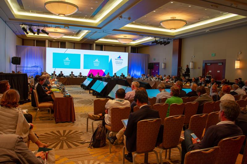 Council Meeting - World Sailing  Annual Conference from 27 October to 4 November. - photo © Daniel Smith