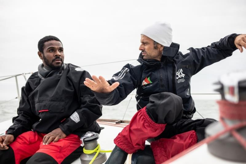 Franck Cammas joins the Oman Sail team - photo © Eloi Stichelbaut