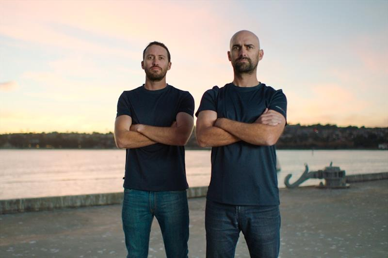 Stars & Stripes Team USA, lead by Mike Buckley (right) and Taylor Canfield (left), to challenge for 36th America's Cup - photo © Matt Knighton