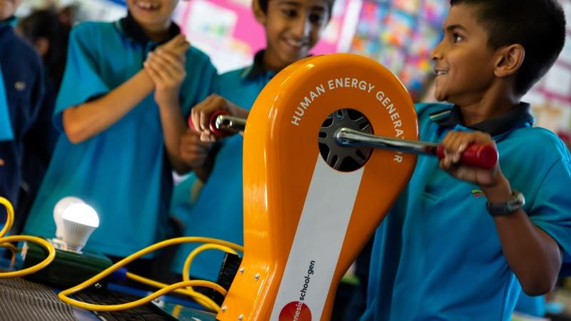 Genesis and Emirates Team New Zealand will work together to introduce new STEM resources and activities for schools - photo © Genesis Energy