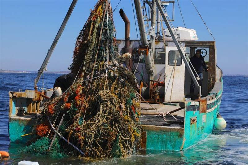 Ocean Conservancy's Global Ghost Gear Initiative will partner with the fishing industry to gather and analyze ghost gear related data in the Gulf of Maine. - photo © World Animal Protection / Ocean Conservancy