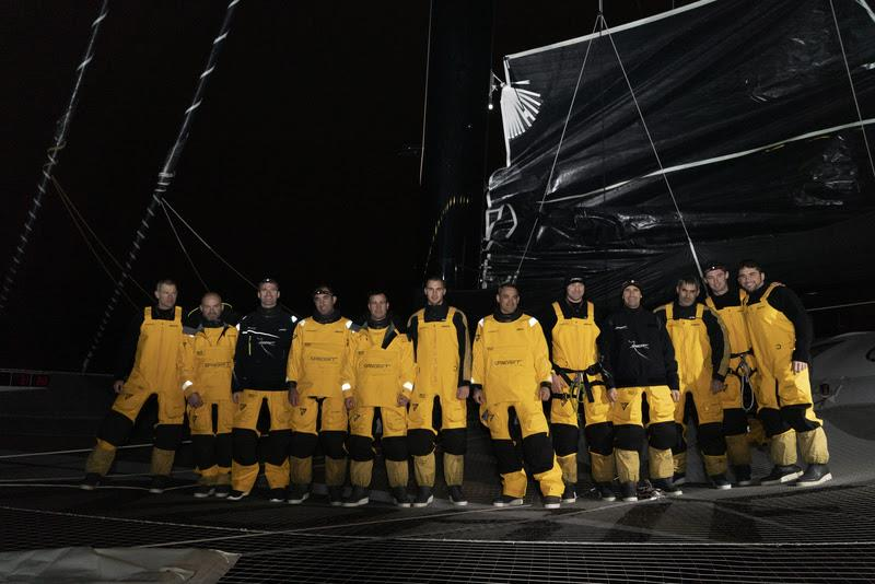 Spindrift 2 squad for Jules Verne Trophy - photo © Chris Schmid / Spindrift racing