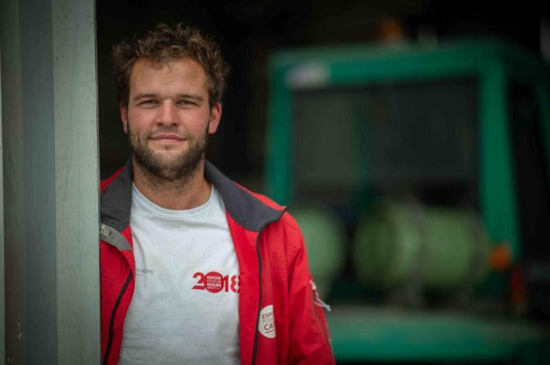 Competing on BHB, the French Class40, Arthur Hubert says: `As a young sailor, I need to take these opportunities as it is a golden bridge to go on future adventures!` - RORC Caribbean 600 - photo © RORC
