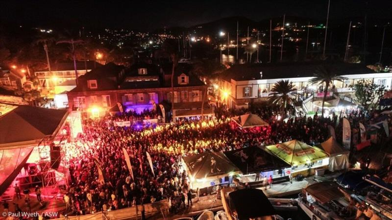 Night-time celebrations happens at Reggae in the Park - Antigua Sailing Week - photo © Paul Wyeth / ASW