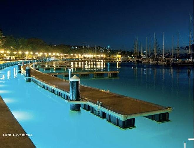 The new marina in Papeete can accommodate visiting yachts of all sizes - photo © Danee Hazama